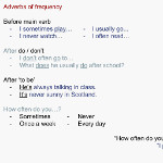 ESL Lesson plan A2 - Adverbs of frequency