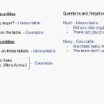 ESL Lesson plan A2 - Using quantifiers